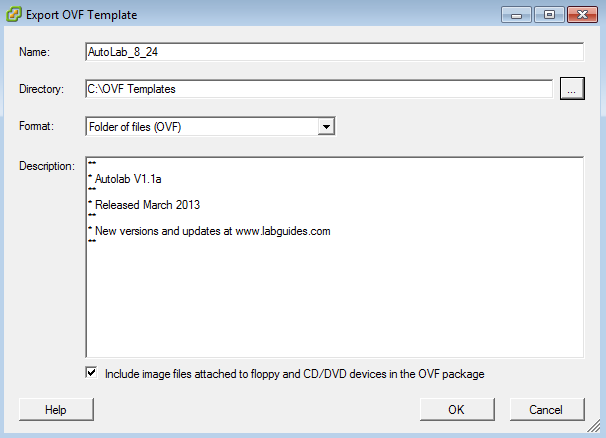 Autolab export_save template
