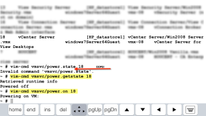 SSH-Power-On state