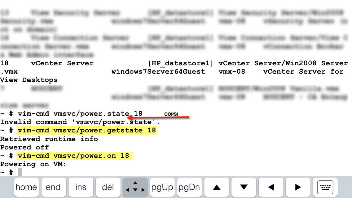 How To Power a VM On or Off via SSH - The vCenterNerd
